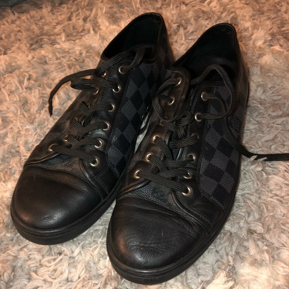 7418f78d6f00 Louis Vuitton Other - Men s Louis Vuitton Leather GO 1019 Trainers